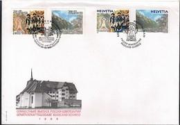 Switzerland + Russia 1999 Joint Issue General Suworow FDC - Gemeinschaftsausgaben
