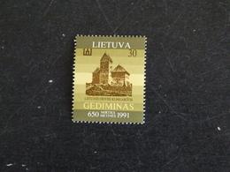 LITUANIE LIETUVA YT 417 ** - GEDIMINAS CHATEAU - Lithuania