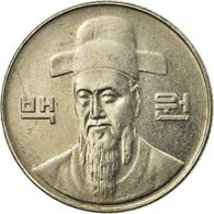 Monnaie, KOREA-SOUTH, 100 Won, 2001, TTB, Copper-nickel, KM:35.2 - Corée Du Sud