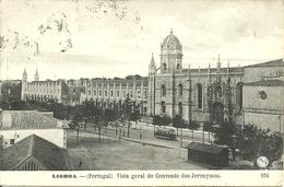 Lisboa, Lisbona (Portugal) Vista Geral Do Convento Dos Jeronymos (Mosteiro Dos Jeronimos) - Lisboa
