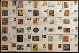 France FDC - Premier Jour - Lot De 30 FDC - Thématique Art Peinture Sculture Musée - FDC