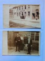 Ledeghem Ledegem 2 Fotokaarten +-1916 In Prins Boudewijn - Ledegem