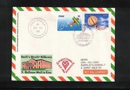 Ireland 1994 Ballonpost Interesting Cover - 1949-... Republik Irland