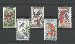 TCHAD - TIMBRES NEUFS** N° 2 à 6 - PA - 1961/63 - OISEAUX - SERIE COMPLETE - COTE 37.30 € - VOIR SCAN - Tchad (1960-...)
