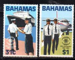 APR449 - BAHAMAS 1983 , Serie Yvert N. 556/557  ***  MNH  (2380A). - Bahamas (1973-...)