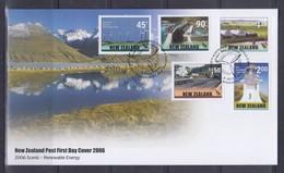 New Zealand 2006 Scenic-Renewable Energy FDC - FDC