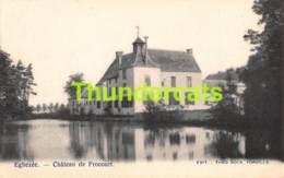 CPA EGHEZEE CHATEAU DE FROCOURT - Eghezée