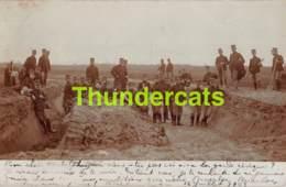 CPA CARTE DE PHOTO BOURG LEOPOLD LEOPOLDSBURG KAMP VAN BEVERLOO FOTOKAART - Leopoldsburg (Kamp Van Beverloo)