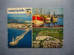 PORT LA  NOUVELLE     -  11 -  Camping Cap Du Roc  -  Multivues  -   AUDE - Port La Nouvelle