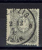 Allemagne - 1875-77 - N° 35 Gris Oblitéré Avec E Final - B/TB - - Used Stamps
