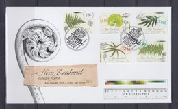 New Zealand 2013 Native Ferns FDC - FDC