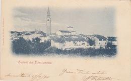 PORDENONE - PANORAMA - CARTOLINA VIAGGIATA NEL 1900 - - Pordenone