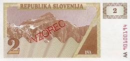 Slovenia 1 Tolar 1990 Pick 2s1 UNC - Slovenia