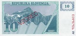 Slovenia 10 Tolar 1990 Pick 4s1 UNC - Slovénie