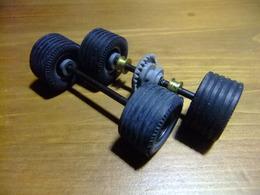 SCALEXTRIC MERCEDES WANKEL C -111 Accesorio Juego Ruedas - Circuitos Automóviles