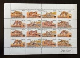Nigeria 2003; WWF Fauna & Animals; Mammals; Wildlife; MNH, Neuf**, Postfrisch; Scarce!! - Nigeria (1961-...)