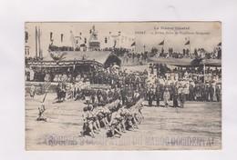 CPA RABAT, 14 JUILLET, DEFILE DE TIRAILLEURS SENEGALAIS En 1913! - Rabat