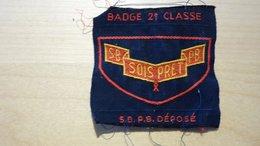 Ancien Insigne Scout Belge Seconde Classe - Insignes & Rubans