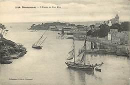 -dpts Div. -ref-AH594- Finistère - Douarnenez - L Entrée Du Port Rhu - Voilier - Bateau - Bateaux - Carte Bon Etat - - Douarnenez