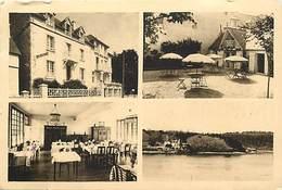 -dpts Div. -ref-AH593- Finistère - Benodet - Hotel Beau Rivage - N. Jequel Propr. - 4 Vues - Souvenir De .. - - Bénodet