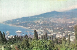 Yalta (Russia, URSS, CCCP) Panorama, General View, Vue Generale, Gesamtansicht - Russia