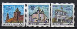 Russia 1993 Novgorod Kremlin Y.T. 6013/6015 ** - 1992-.... Fédération