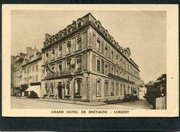 CPA - LORIENT - GRAND HÔTEL DE BRETAGNE - Automobile - Lorient