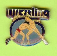 Pin's Wrestling /Lutte - 10CC12 - Wrestling