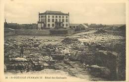 -dpts Div. -ref-AH592- Finistère - Saint Guenolé Penmarch - St Guenolé - Hotel Des Goëlands - Hotels - Carte Bon Etat - - Penmarch