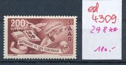 Saar Nr. 298     **  (ed4309  ) Siehe Scan - 1947-56 Occupation Alliée