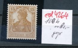 D.-Reich Nr.  100 B   Geprüft   **   (ed4264  ) Siehe Scan - Allemagne