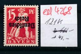 D.-Reich Nr.  121 K Selten !   *   (ed4268  ) Siehe Scan - Variétés
