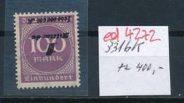 D.-Reich Nr. 331b   K Selten !   **   (ed4272  ) Siehe Scan - Variétés