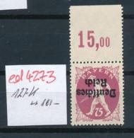 D.-Reich Nr. 127   K Selten !   **   (ed4273  ) Siehe Scan - Variétés