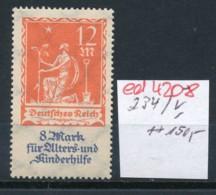 D.-Reich Nr. 234  V    **   (ed4208  ) Siehe Scan - Variétés
