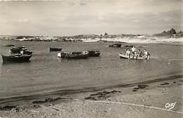 -dpts Div. -ref-AH591- Finistère - Tregunc - Pors Broign - Pouldohan - Jeunes Gens Dans Une Barque - Edit. Gaby - N° 36 - Trégunc