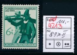 D.-Reich Nr. 897 II   **   (ed4213  ) Siehe Scan - Variétés