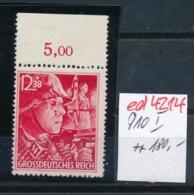 D.-Reich Nr. 910 I    **   (ed4214  ) Siehe Scan - Variétés