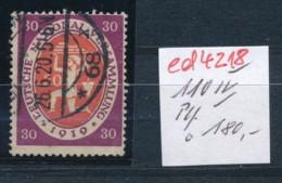 D.-Reich Nr. 110 IV  O   (ed4218  ) Siehe Scan - Variétés