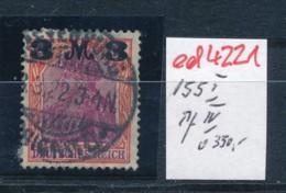D.-Reich Nr. 155 I  /IV   O   (ed4221  ) Siehe Scan - Variétés