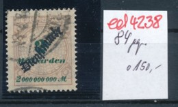 D.-Reich Nr. D84   Geprüft  O    (ed4238  ) Siehe Scan - Allemagne