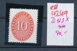 D.-Reich Nr. D 123 X   **    (ed4249 ) Siehe Scan - Neufs