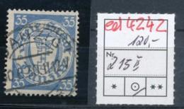 Danzig Nr. 215  II   O   (ed4242 ) Siehe Scan - Dantzig