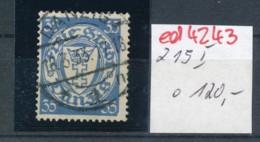 Danzig Nr. 215  I   O   (ed4243 ) Siehe Scan - Dantzig