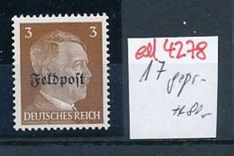 Feldpost 17 Signiert     **  (ed4278 ) Siehe Scan - Allemagne