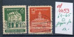 SBZ  Nr. 64-65  O Geprüft   (ed4453 ) Siehe Scan - Zone Soviétique