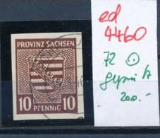 SBZ  Nr. 72    O Geprüft   (ed4460 ) Siehe Scan - Zone Soviétique