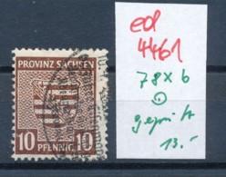 SBZ  Nr. 78xb     O Geprüft   (ed4461 ) Siehe Scan - Zone Soviétique