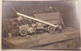 1916 TM 22 Transport Automobile Souvenir De Poilus Maquette Accident De Camion  1914 1918 WW1 14 18 WK1 - War, Military