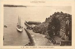 -dpts Div. -ref-AH588 - Côtes D Armor - Val André - Piégu Et Son Debarcadère - Débarcadères - Carte Bon Etat - - Pléneuf-Val-André